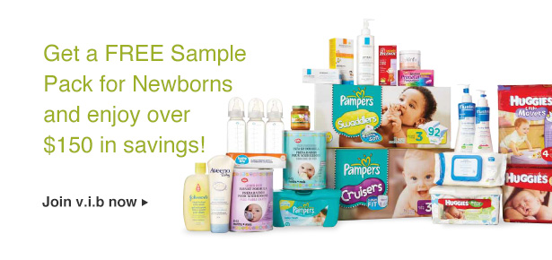 Free sample pack newborns en