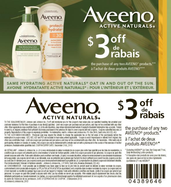 image relating to Aveeno Coupon Printable titled Aveeno printable coupon codes oct 2018 / Kohls discount coupons 2018