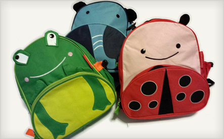 animal back packs