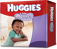 $2 huggies little movers