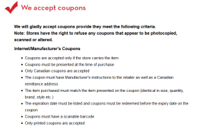 accept coupons 1