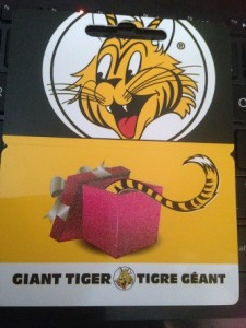 Giant Tiger Gift Card