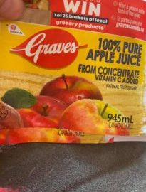 graves apple juic